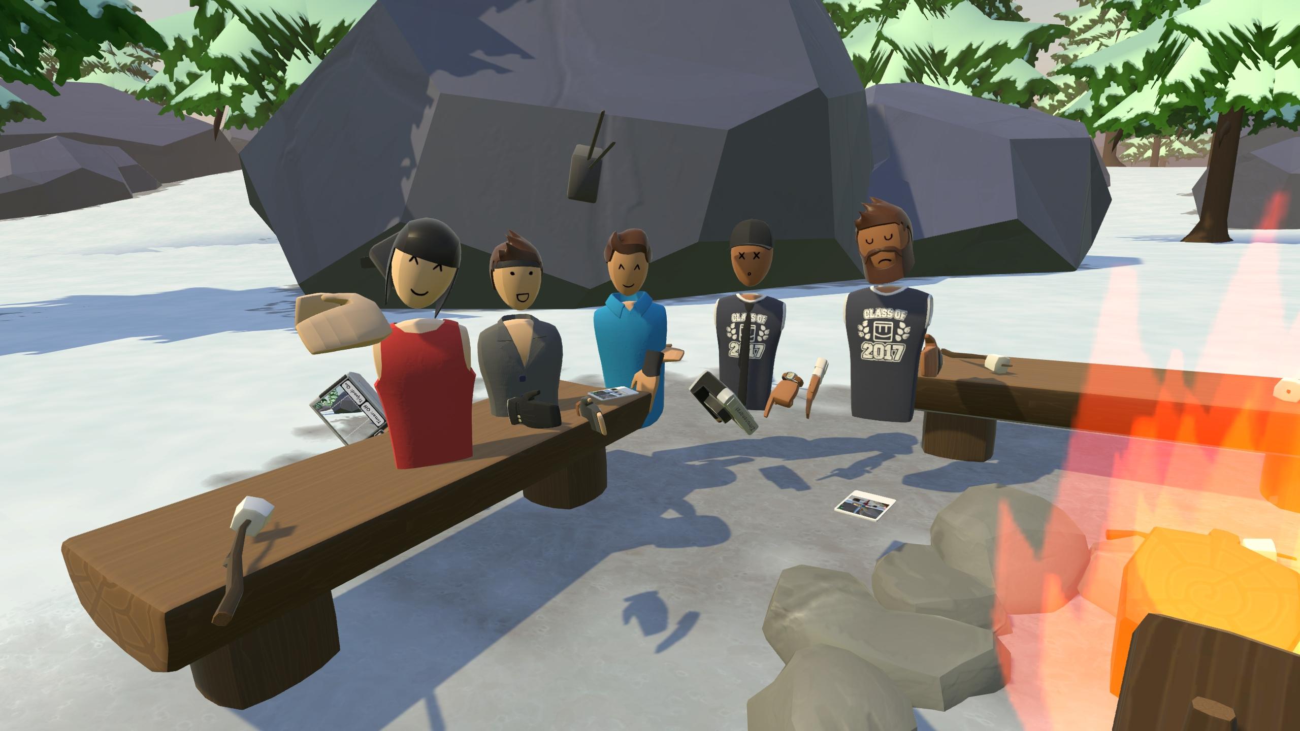 VR-Legion erstes Treffen