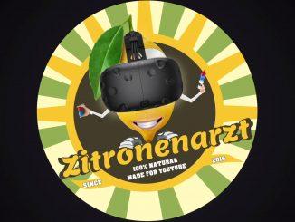 Der Schweizer VR-Youtuber Zitronenarzt sorgt für Videos zu VR-Spielen.