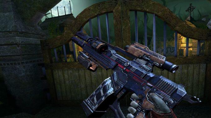 Die Waffen in Drop Dead haben recht unterschiedliche Nachladezeiten.