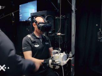ISS-Kommandant Alexander Gerst trainierte mit der HTC Vive für die Weltraummission.