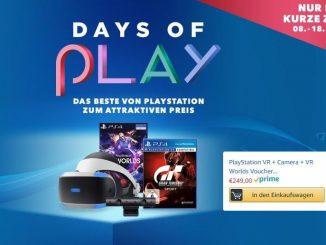 Playstation VR gibts günstig an den Days of Play