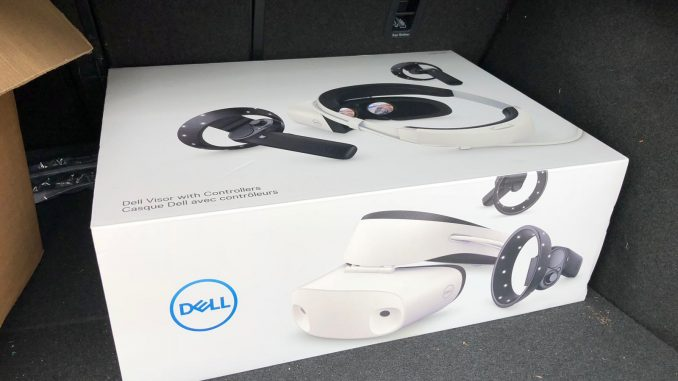 Dell Visor Windows Mixed Reality im Test (Gastbeitrag)