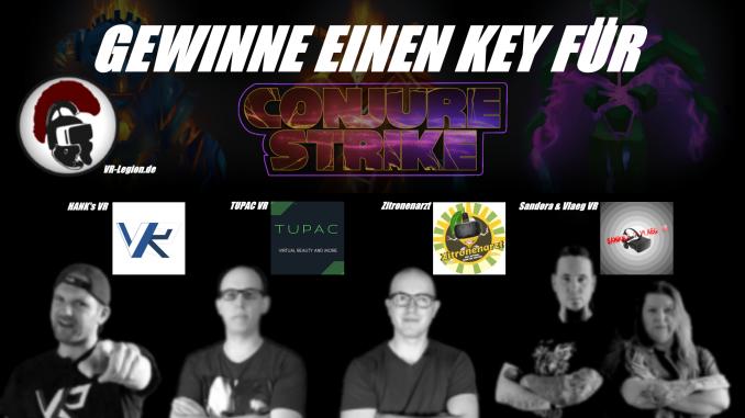 Conjure Strike Gewinnspiel