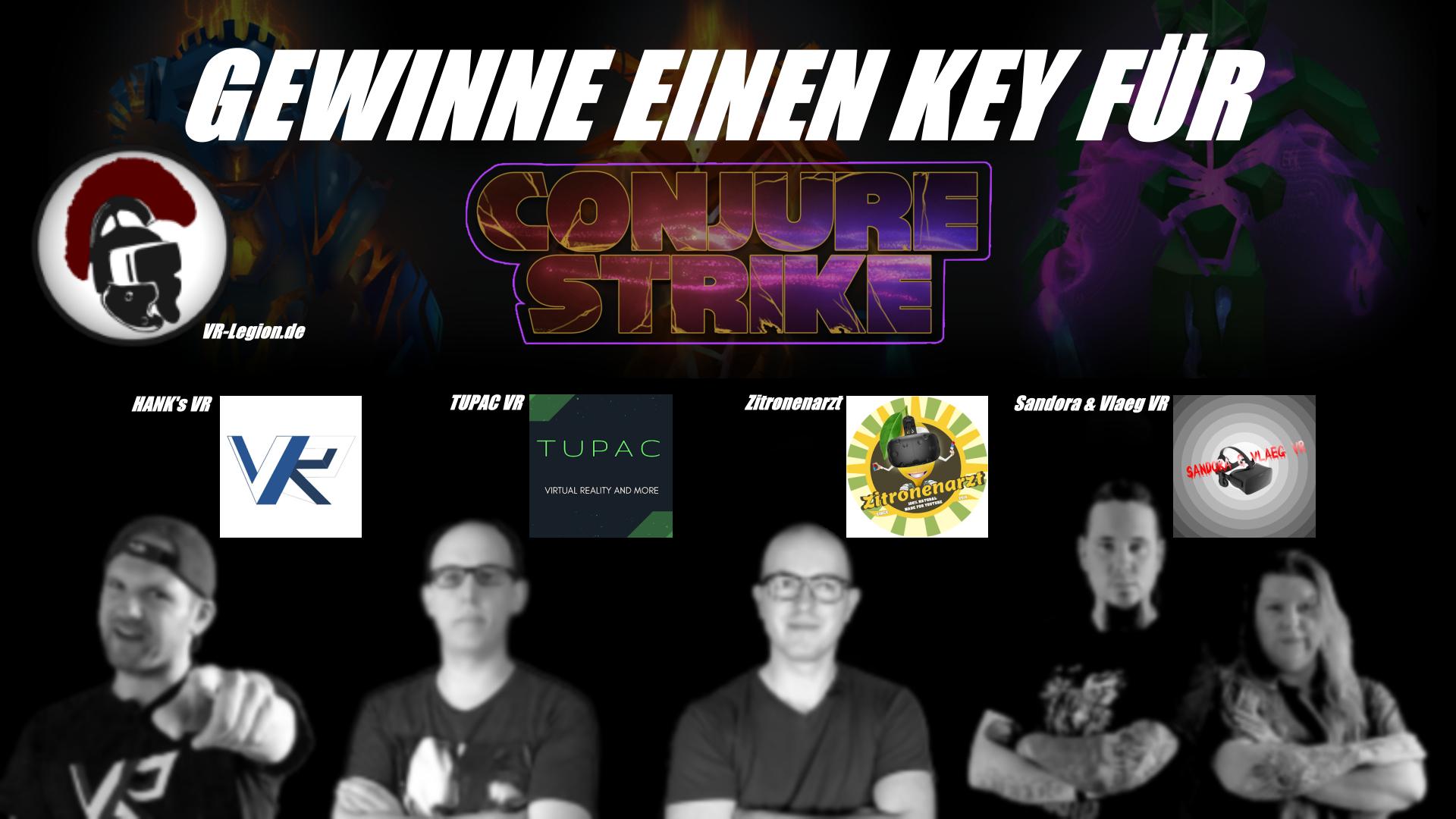 Gewinnt einen Key für Conjure Strike auf Oculus Rift