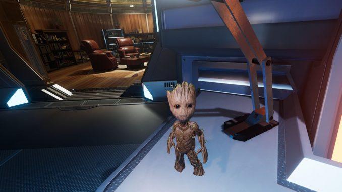 Groot in Marvel Powers United VR