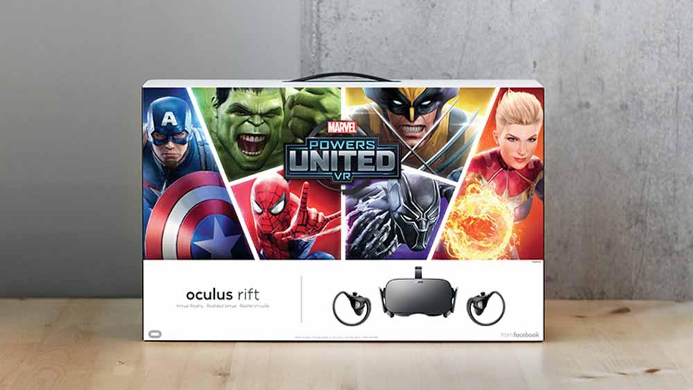 Oculus Rift kommt im Special Edition Bundle mit Marvel Powers United VR
