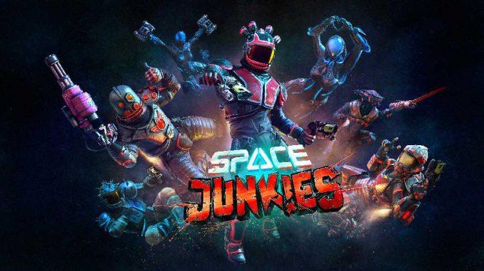 Space Junkies Artwork
