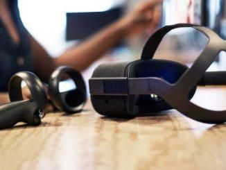 Oculus Santa Cruz mit zwei Controllern
