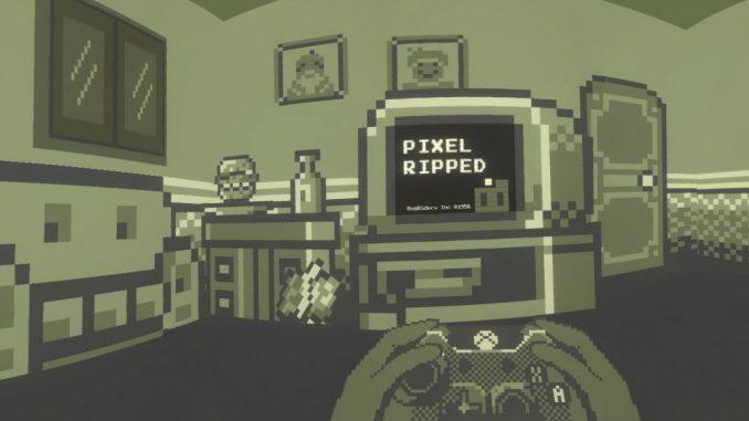 Pixel Ripped 1989 Dot's Raum
