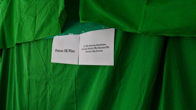 Die Pimax 5K+ war erstmals in Berlin zu sehen
