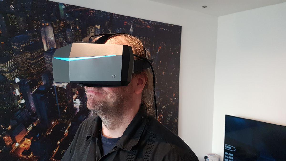 Pimax 5K+ und Pimax 8K selbst ausprobiert – die VR-Legion zu Besuch bei Sebastian (MRTV)