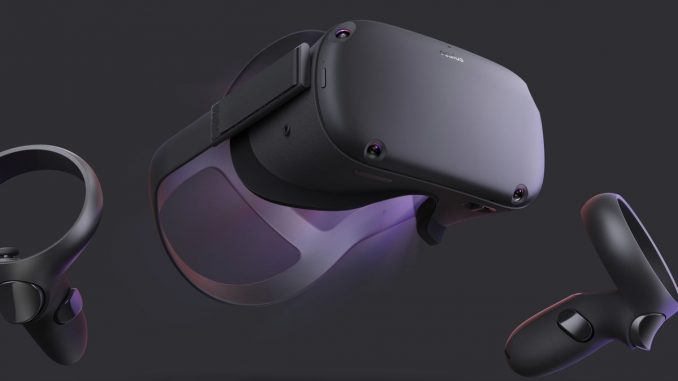 Oculus Quest mit 6DOF-Tracking und Inside-Out.