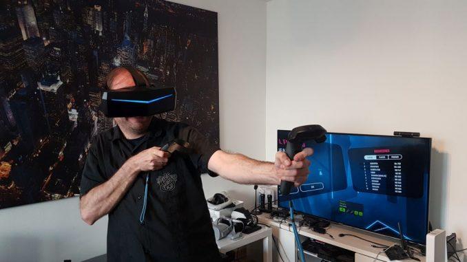 Die Pimax 8K im Hands-on Test mit der VR Legion