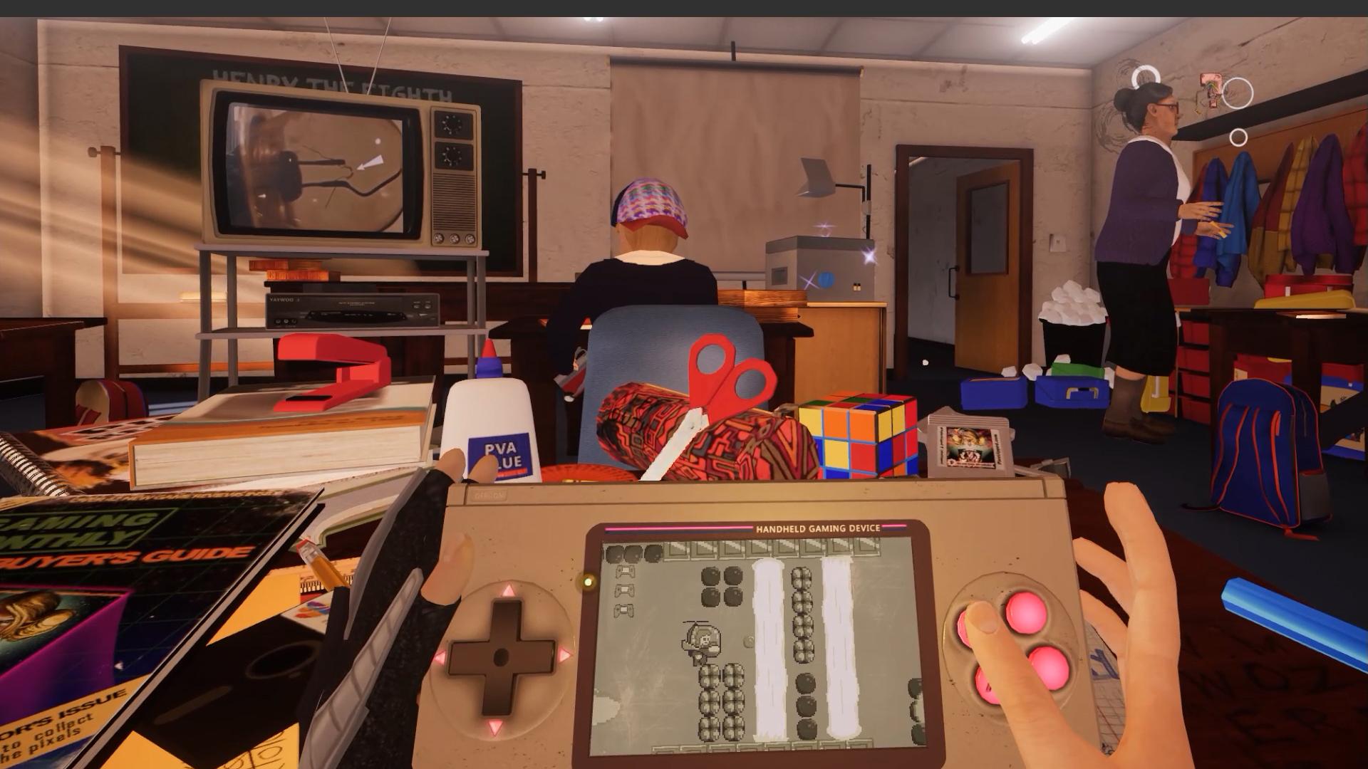 Mit VR zurück in der Vergangenheit: Pixel Ripped 1989 im Test