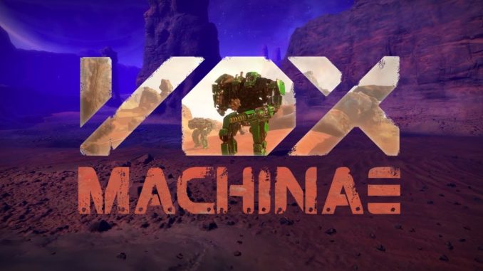 vox machinae vr battlemechs