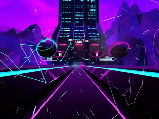 80er Backflash meets Beat Saber mit Synth Riders