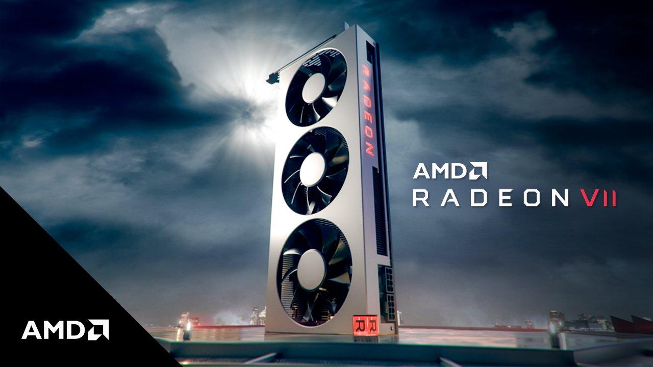 AMD stellt Radeon VII vor – Vega II in 7nm mit 16 GByte als Konkurrenz zur Geforce RTX 2080