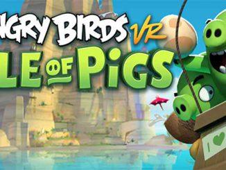 Angry Birds VR ist genauso motivierend wie die Handyspiele