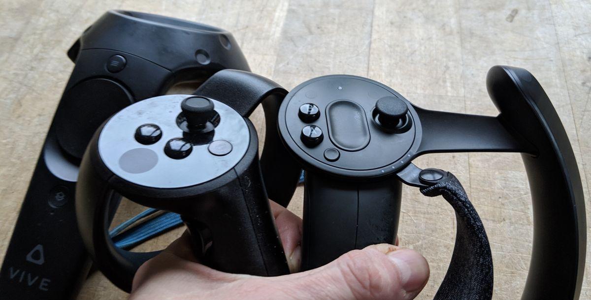 VR Controller im Vergleich
