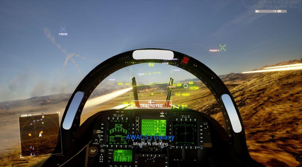 Project Wingman: Luftkämpfe wie in Ace Combat aber für PC und mit VR
