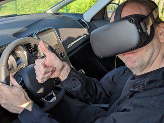 Oculus Quest im Auto