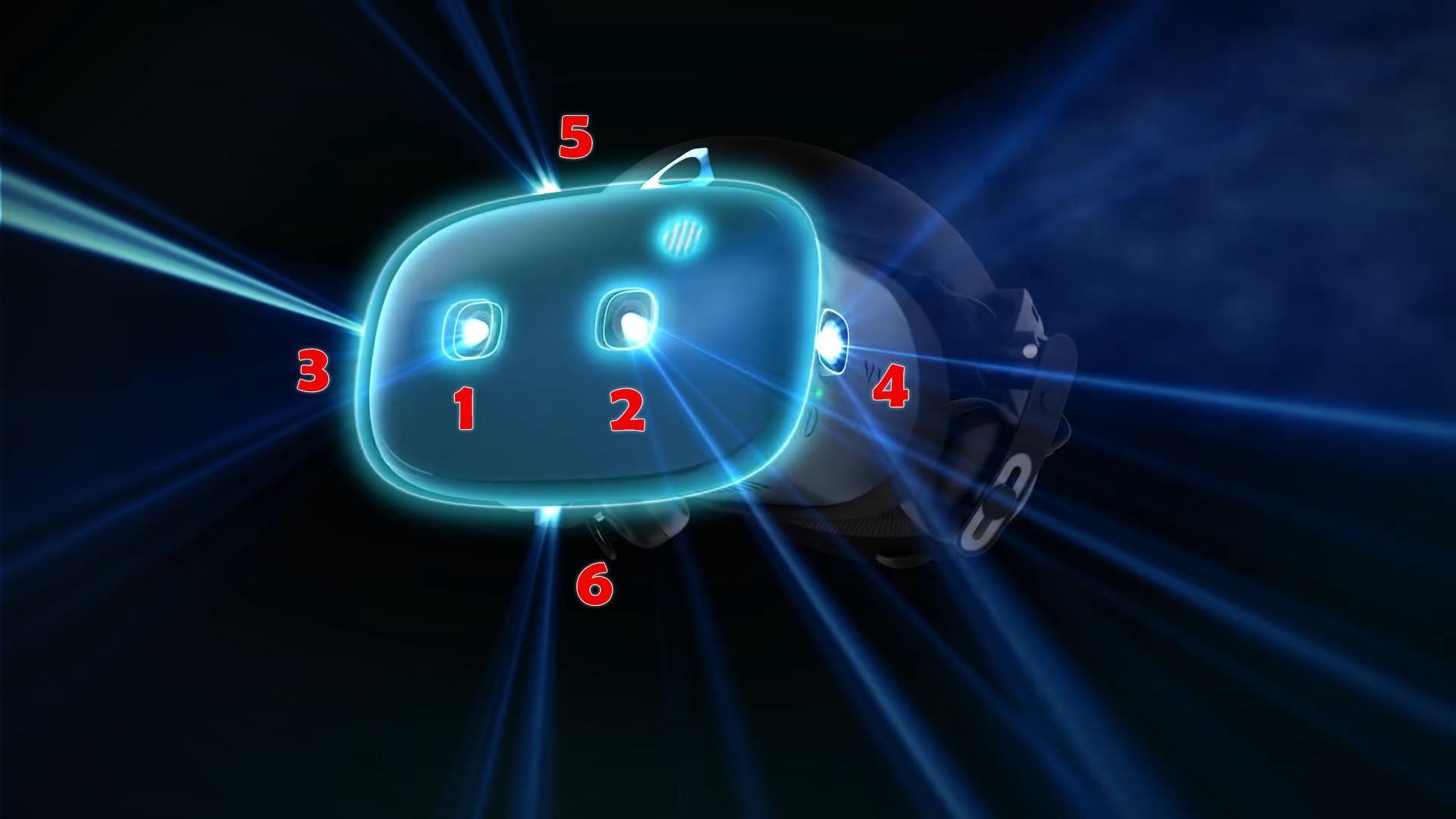 HTC Vive Cosmos: 6 Kameras, LCD mit RGB Stripe, MRTV Preisgerüchte