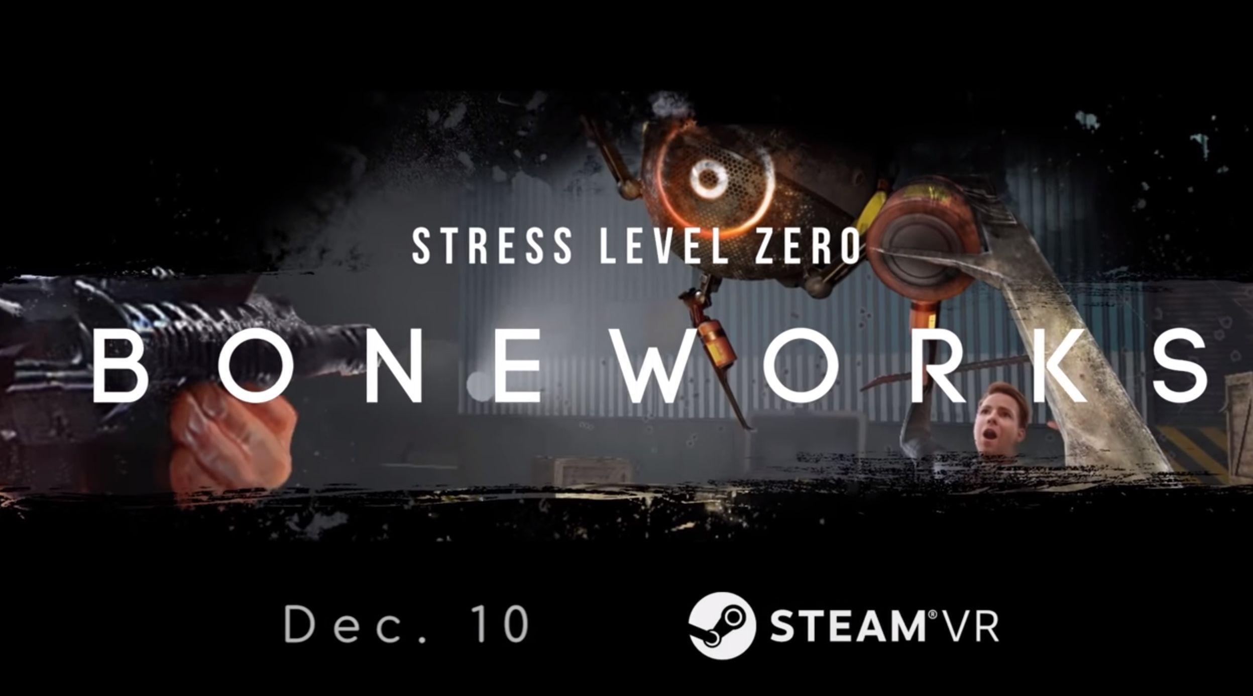 Physik und Waffen: Boneworks erscheint am 10. Dezember für SteamVR