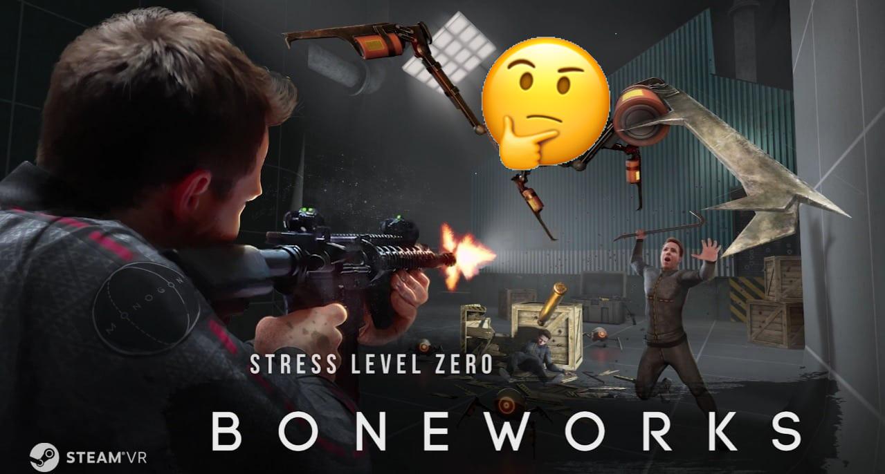 Boneworks: Katastrophal oder doch epochal?