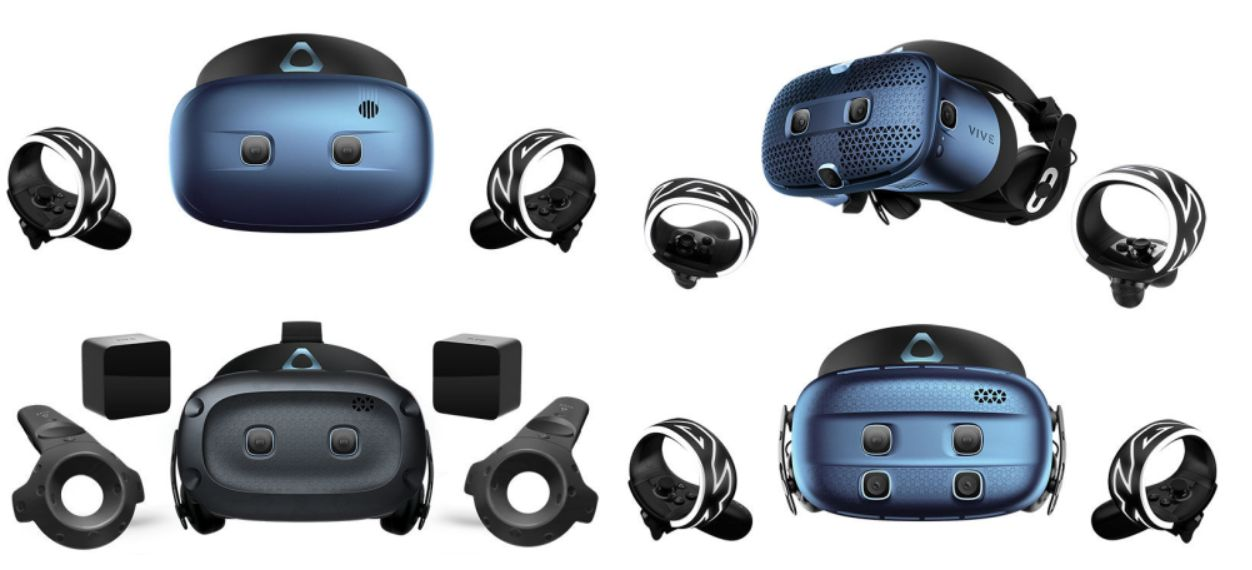HTC bringt mehr Cosmos – Günstigere Cosmos Play, Lighthouse-Faceplate, Cosmos XR