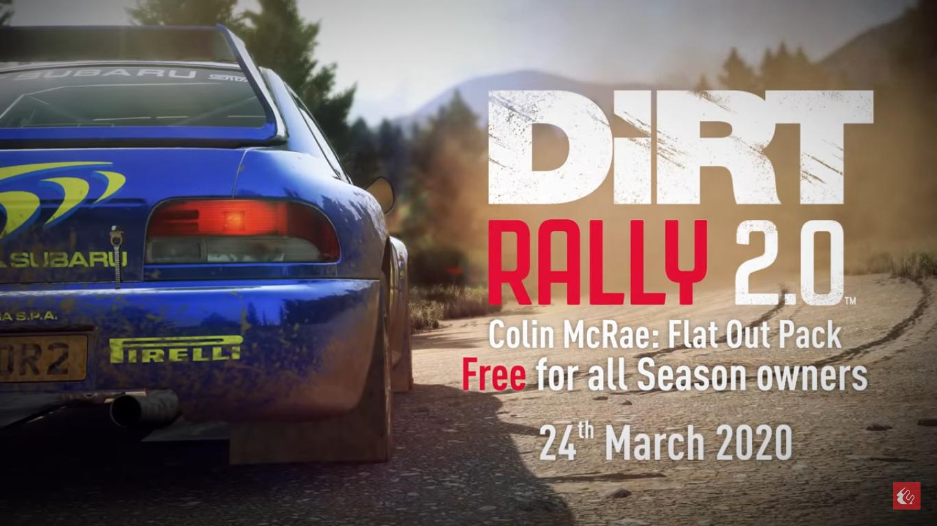 FlatOut-Pack für Dirt Rally 2.0 – wir brettern in VR durch Schottland