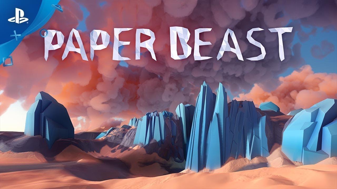 Paper Beast wir erkunden eine Welt voll mit Origami