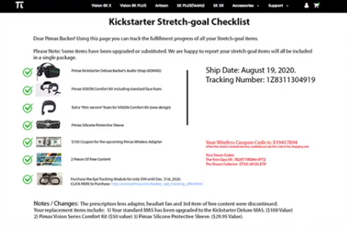 Kickstarter Checkliste