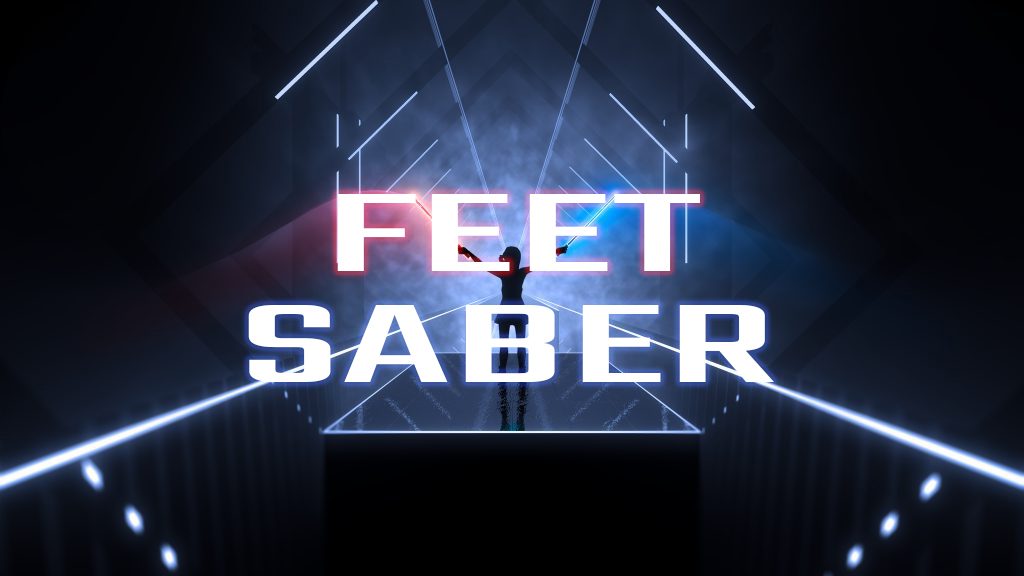 Aus Beat Saber wird Feet Saber mittels Mod