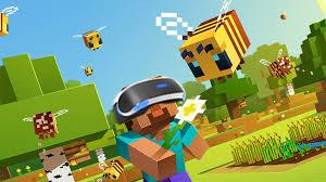 Minecraft nun auch in VR auf der PS erschienen