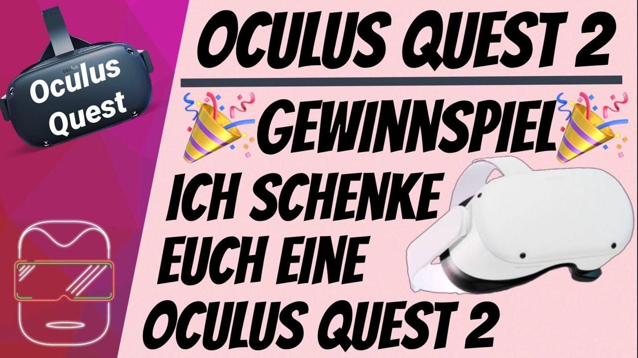 Die Zock Stube – Ich SCHENKE euch eine OCULUS QUEST 2 – Bis zum 07.11.2020 eine Oculus Quest 2 Gewinnen!