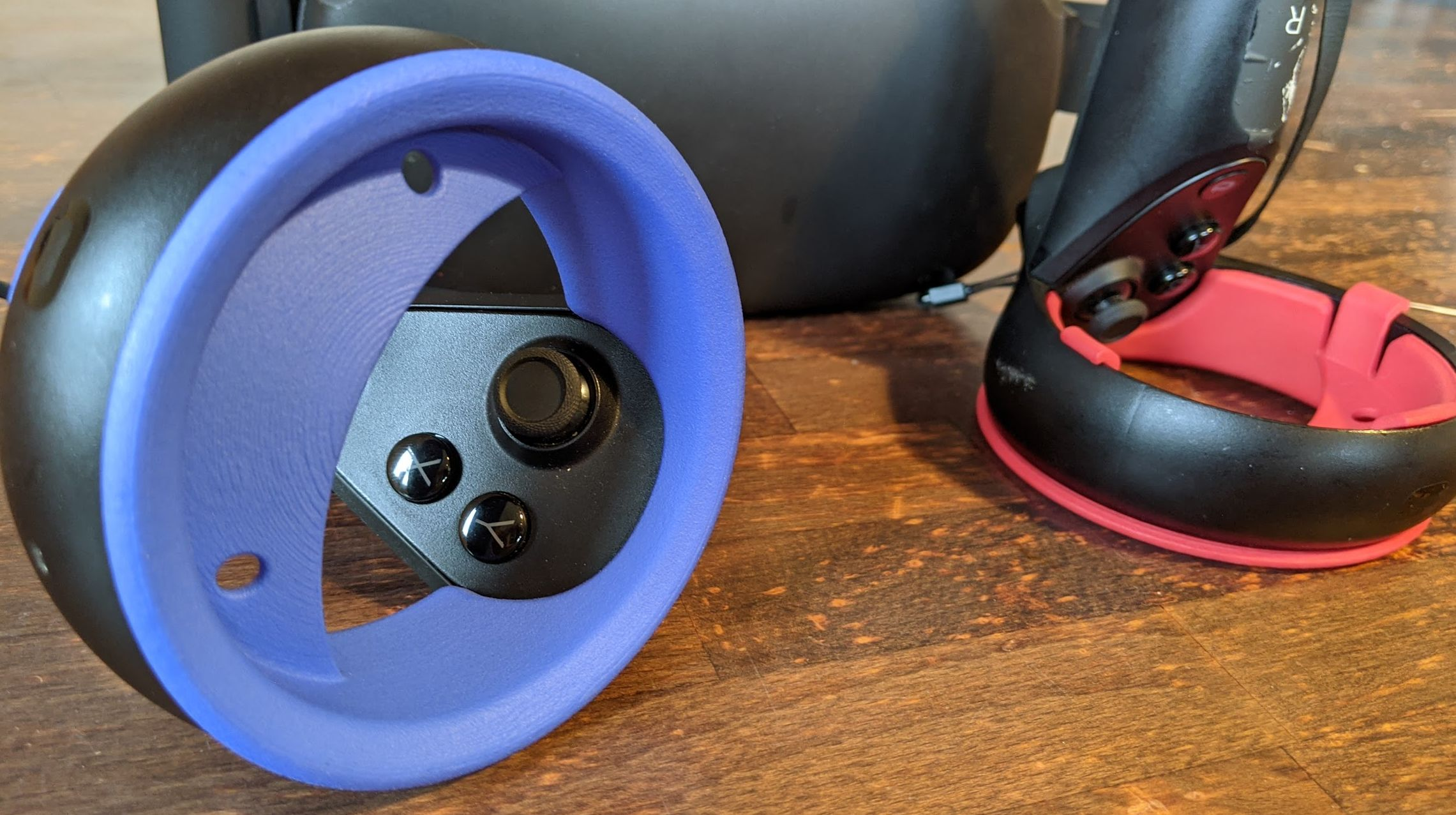 VR the Hardcore – Controller-Schutz für Oculus Rift S und Quest (1) bei Kickstarter
