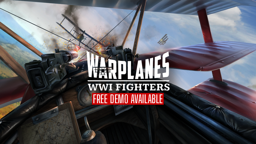 Warplane WW1 Fighters für Sidequest ist pures VR-Gold