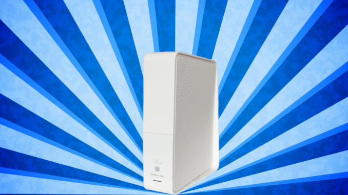 Mein Router - die Unitymedia Connect Box.